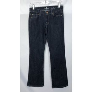 7 For All Mankind 'Bootcut' Dark Wash Jeans Sz 25
